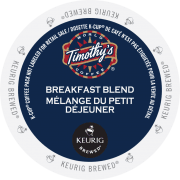 1 breakfast blend coffee timothys k cup ca general ConvertImage 180x180 - Noisette (Timothy's) - 24
