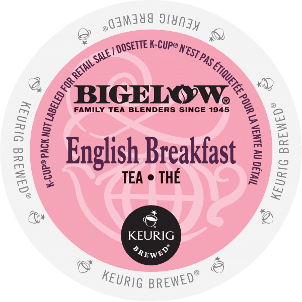 20 english breakfast tea bigelow k cup ca general 600x601 - English Breakfast (Bigelow) - 24