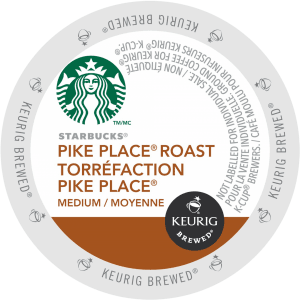 38 pike place roast coffee starbucks k cup ca general 300x300 - Caffitaly Corposo - 10 capsules