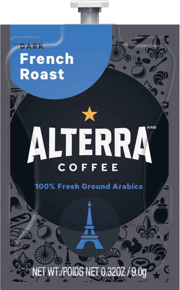 76 Alterra French Roast Freshpack NAM 1 600x967 - Flavia Torréfaction française (French Roast) - 100 sachets