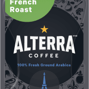 84 Alterra French Roast Decaf Freshpack NAM 180x180 - Vert (Select Green) - 100 sachets