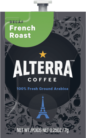 84 Alterra French Roast Decaf Freshpack NAM 300x484 - Morning Roast - 100 sachets