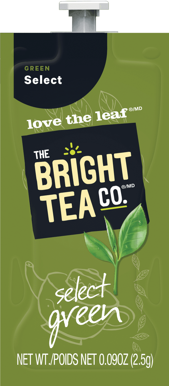 88 The Bright Tea Co Select Green Freshpack NAM - Flavia Thé Vert (Select Green) - 100 sachets