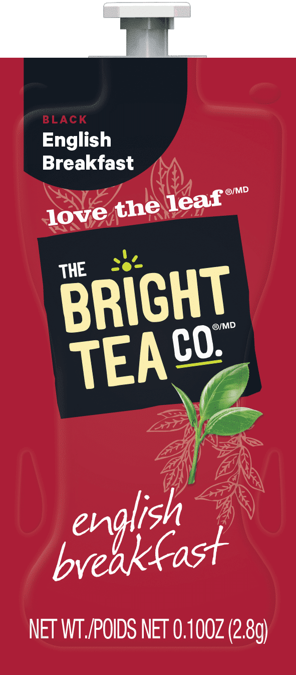 90 The Bright Tea Co English Breakfast Freshpack NAM - Chocolat chaud - 72 sachets