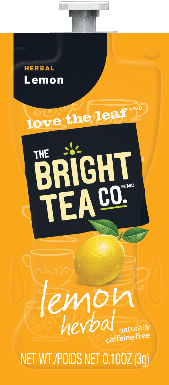 94 The Bright Tea Co Lemon Herbal Freshpack NAM - Citron (Lemon Herbal) - 100 sachets