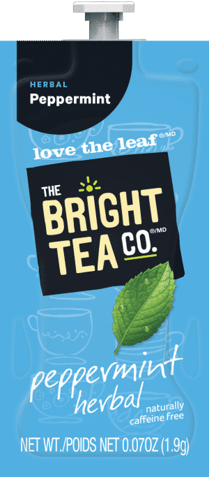 95 The Bright Tea Co Peppermint Herbal Freshpack NAM 300x683 - Flavia Italian (recommandé pour l'expresso) - 100 sachets