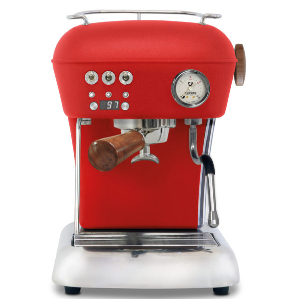 Ascaso dream PID rouge lamachineacafe 600x600 - Machine à expresso Ascaso Dream PID Rouge