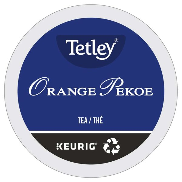 Keurig Tetley thé Orange Pekoe lamachineacafe 600x600 - Keurig Orange Pekoe (Tetley remplace temporairement le Red Rose) - 24