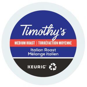 Keurig Timothys Mélange italien lamachineacafe 300x300 - Caffitaly Corposo - 10 capsules