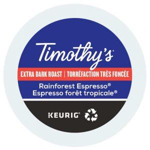 Keurig Timothys Rain forest expresso lamachineacafe 300x300 - Caffitaly Corposo - 10 capsules