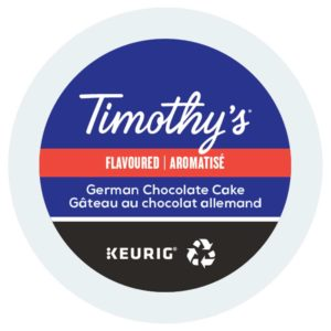 Keurig Timothys gateau chocolat allemand lamachineacafe 300x300 - Keurig Pike Place (Starbucks) - 24