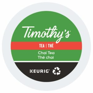 Keurig Timothys the chai lamachineacafe 300x300 - Keurig Thé Earl Grey (Bigelow) - 24